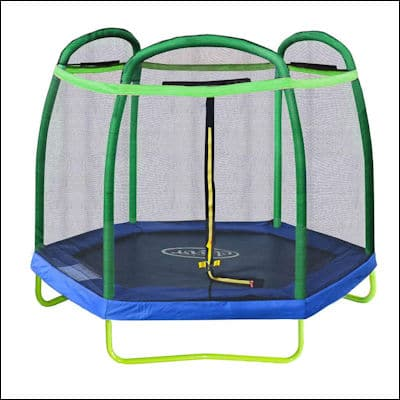 Clevr 7ft Kids Trampoline review