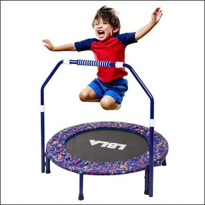 LBLA Kids Trampoline review