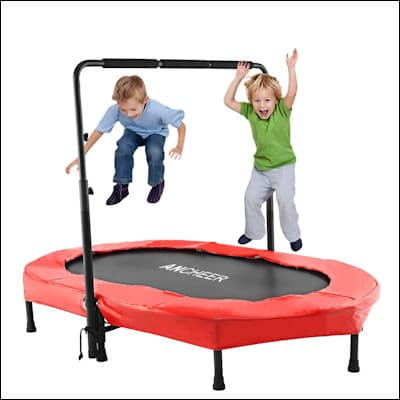 ANCHEER Mini Trampoline review