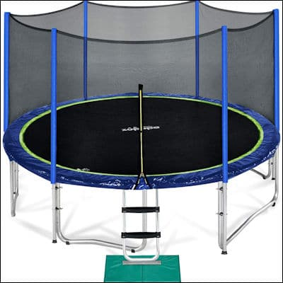 Zupapa 12 FT TUV Approved Trampoline review